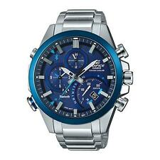 Casio Edifice Mens Watch EQB-500DB-2AER Solar Bluetooth Alarm Chronograph