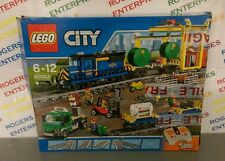 Lego City 60052 Cargo Freight Train Set - NEAR COMPLETE Sealed Bags, Box Poor