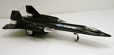 "8"" new diecast model plane Lockheed SR-71 Blackbird US Air Force jet #153"