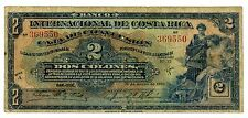 Costa Rica ... P-184 ... 2 Colones ... 14-Mar-1926 ... *F+*