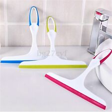 Glass Window Soap Wiper Cleaning Squeegee For Home Shower Bathroom Tile Mirror