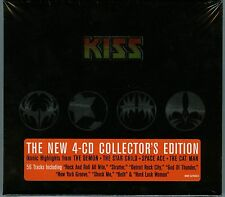 Kiss Ikons 4 CD set  new German logo Mercury / Universal ‎– 00602517823051