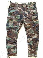 New Ralph Lauren Denim & Supply Army Green Camo Drop Fit Cargo Pants sz 34 x 32