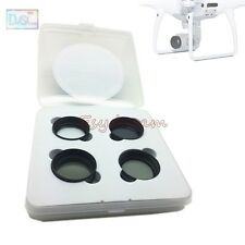 CPL + ND2 + ND4 + Star 6 Cross Lens Filter Kit for DJI Phantom 4 Pro Accessories
