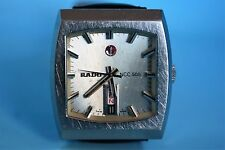 Rado 505 automatic, day date, very Rare, ETA movement,men's watch, 1970s vintage