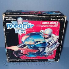 VINTAGE 1988 KENNER ROBOCOP AND THE ULTRA POLICE ROBO-CYCLE VEHICLE BOXED