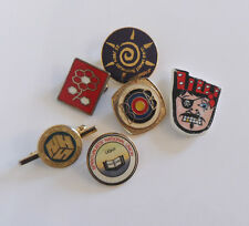 MIXTURE of ENAMEL BADGES ETC - COLLECTORS LOT
