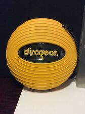 Discgear Sport Yellow 20 Disc/DVD/CD ROM Travel Storage Container/Case