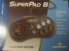 Super Pad 8 Turbo Controller for Sega Saturn NEW in BOX