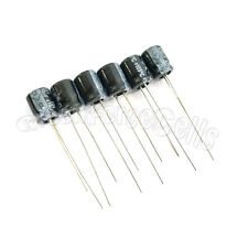 10 x 470uF 10V Radial Electrolytic Capacitor 6.3x7mm