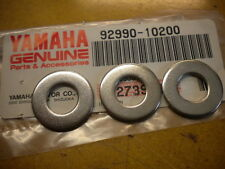 NOS Yamaha OEM Frame Plain Washer 84-90 YZ490 83-94 YZ250 92990-10200 QTY3