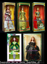 Bard Spellbound Lover Faerie Queen Aine Legends of Ireland Barbie Doll Irish 5G