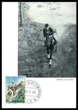 SAN MARINO MK 1966 REITEN REITSPORT PFERD PFERDE HORSE MAXIMUM CARD MC CM am37