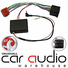 Vauxhall Astra Up To 2004 Car Radio Steering Wheel Interface & FREE PATCH LEAD