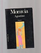 alberto moravia - agostino - edizione i piccoli delfini bompiani copetina nera