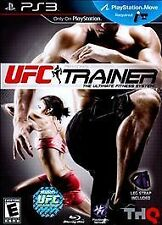 UFC Personal Trainer Ultimate Fitness System PS3  MOVE WITH LEG STRAP NEW! MMA