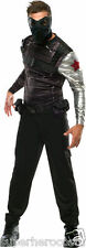 Captain America Winter Soldier Adult Costume Marvel Comics Size 44 Rubies 886329