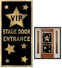 HOLLYWOOD Oscars 1920's Gatsby VIP STAGE DOOR ENTRANCE COVER Party Decoration