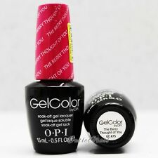 OPI GelColor Brights Collection GC A75 THE BERRY THOUGHT OF YOU 15mL Gel Color