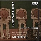 USTVOLSKAYA: COMPLETE PIANO MUSIC NEW & SEALED