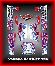 YAMAHA BANSHEE 350 SEMI CUSTOM GRAPHICS KIT USA Pride