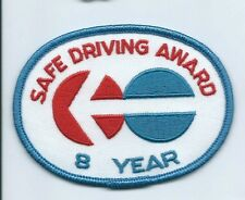 North American Van Lines 8 Year  safe driving award driver patch 3 X 4 #308