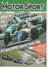 MOTOR SPORT  MAGAZINE   MAY 1994  EUROPEAN F3000 PREVIEW   LS