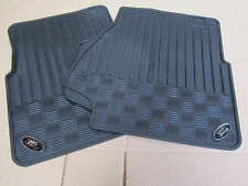 Land Rover Defender Mats Universal fit - Front Pairs -with oval badge- Auto-002
