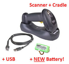 Motorola Symbol LS4278 & Cradle Wireless Barcode Scanner BlueTooth +NEW BATTERY