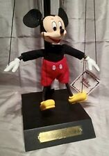 Mickey Mouse Marionette Disney Bob Baker Authentic Limited Edition Puppet New