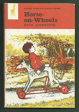 RUTH AINSWORTH - HORSE-ON-WHEELS HB/DW 1ST 1966 SCARCE TOY HORSE