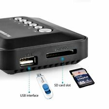 Imported USB SD Divx DVD AVI MP3 MP4 MOV Digital Media Player w/ 720p Output