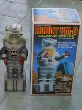 Rare Large Battery Operated Masudaya Lost in Space Robot YM-3 B9 16 inches tall