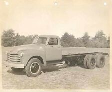 1948 Chevrolet Baumis Warford Dual Truck ORIGINAL Factory Photo wb771-RO3PXC