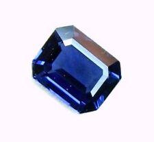 0.80 Carat Natural Mined Loose Gem Octagon Royal Blue Sapphire  5.8x4.7x2.7MM