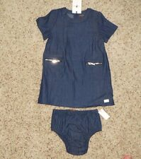 7 For All Mankind Baby Girls Dress (with Diaper Cover) - Size 24 Months - NWT