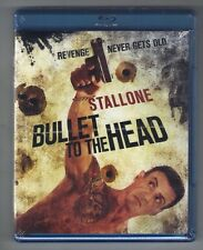 BULLET TO THE HEAD new blu-ray SYLVESTER STALLONE SARAH SHAHI CHRISTIAN SLATER