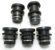 Leica R 5 lens Cinevised Set 24/35/50/90/135 Alexa RED C300 FS7 ARRI Dragon