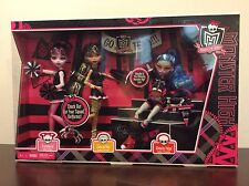 Monster High Fear Squad 3 pack Cheer Cleo Draculaura Ghoulia TRU Fearleading