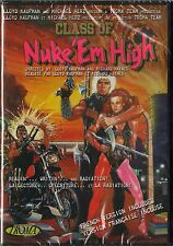 Class of Nuke 'Em High DVD BRAND NEW Janelle Brady, Gilbert Brenton...