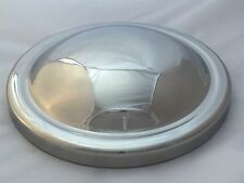 Morris Minor Series MM & Series 2 Stainless Steel Plain Hub Cap