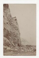 Folkestone, Warren Cliffs Real Photo Postcard, A702