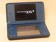 Nintendo DSi XL Launch Edition Blue Handheld System - SOLD AS IS