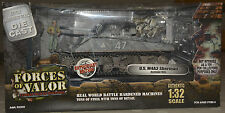 Early, rare forces of valor 1:32 scale. US M4A3 Sherman Tank Bastogne 1945