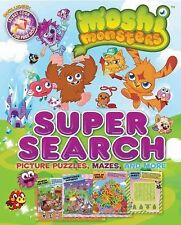 Supersearch: Moshi Monsters Super Search 1 by Bill Scollon (2013, Paperback)