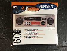 A Vintage JENSEN Car Stereo with Cassette Plus AM/FM Radio NightGlo CR225X
