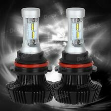 BorView S7 9007 HB5 8000LM Philips LED Light Xenon Headlights Dual Beam No Fanx2