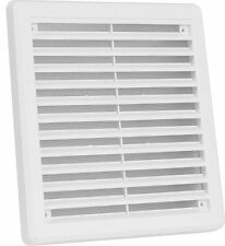 Air Vent Grille Cover 200mm x 200mm (8inch x 8inch) White
