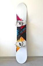 Nitro Snowboard Women's Lectra Colorband Zero 155 cm Ride Lxh Bindings (49) 2012