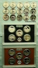 2014 PDSSS 25 Coin National Park ATB Quarter Set -5 BU PDS, Clad & Silver Proofs